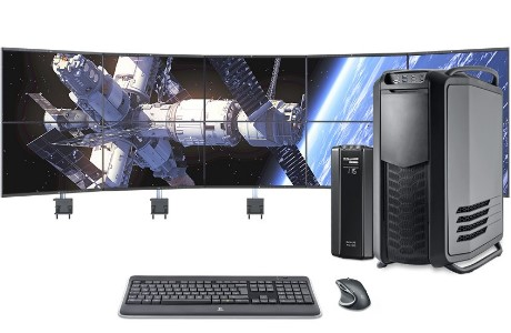 Trading PC, Datastation Profi, 10 Monitore