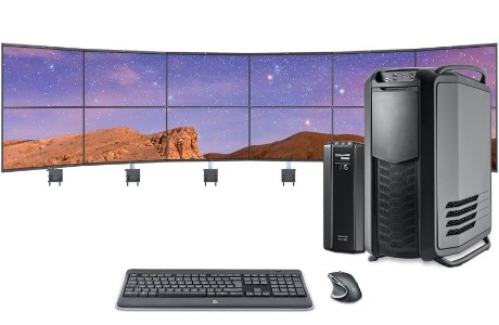 Trading PC, Datastation Profi, 12 Monitore